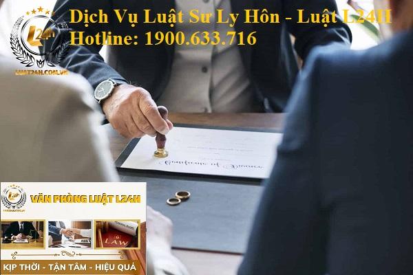dịch vụ luật sư ly hôn l24h