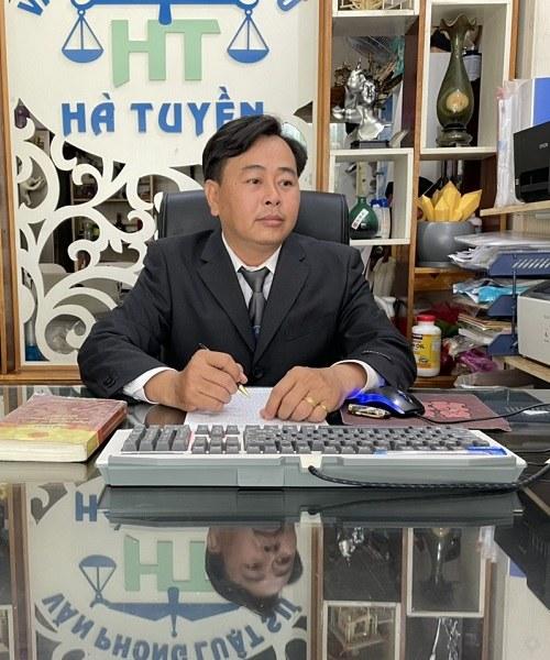 Luật sư Hà Tuyền